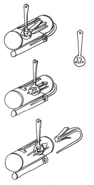 Historical Locks  Viking Era, 800-1050  Viking-Era padlock