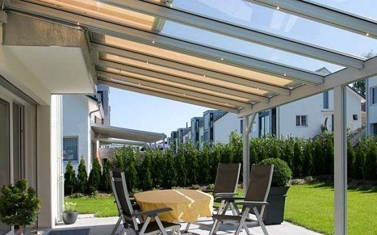 faites un toit en verre pour votre terrasse moderne jardin pinterest toit en verre. Black Bedroom Furniture Sets. Home Design Ideas