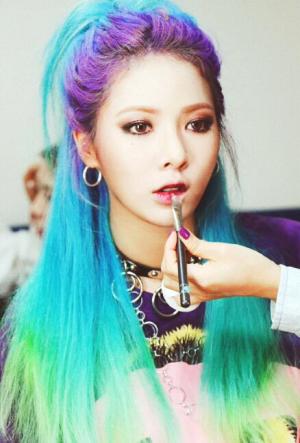 Our 2015 K Celebrity Female Hairstyle Wish List Kpop Hair Color Hyuna Hair Kpop Hair