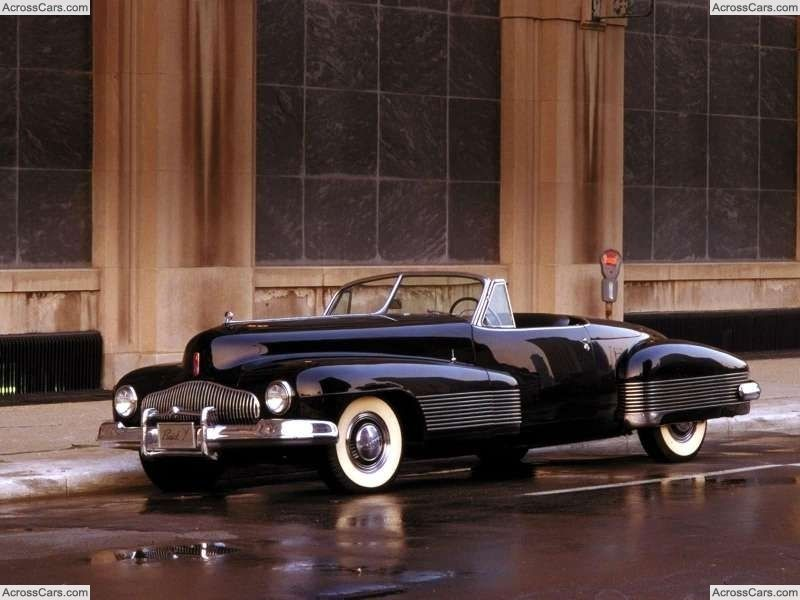 Buick YJob Concept (1938) Antique cars, Buick cars