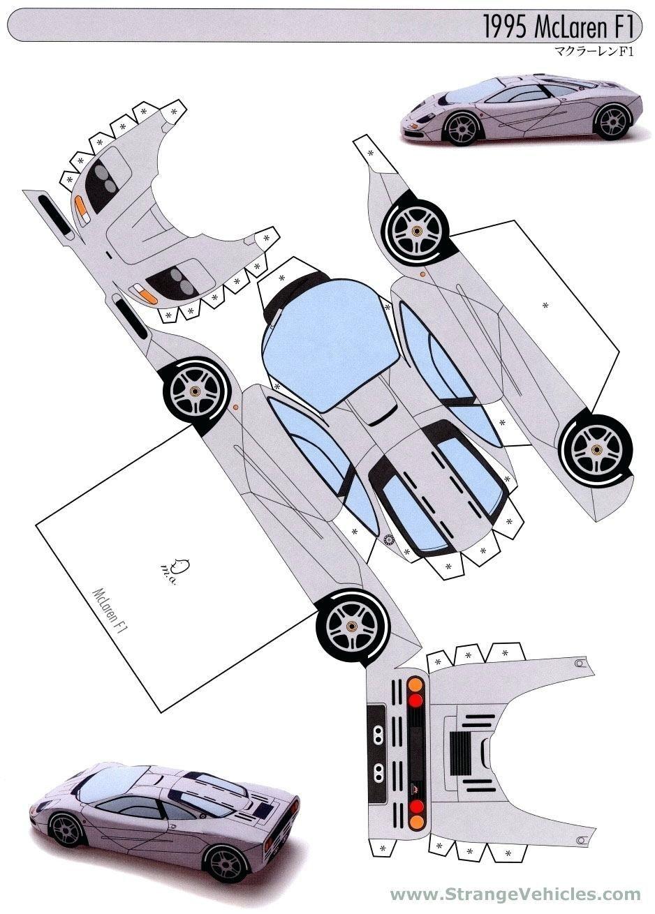 Papercraft Car Image Result For Paper Model Car Templates