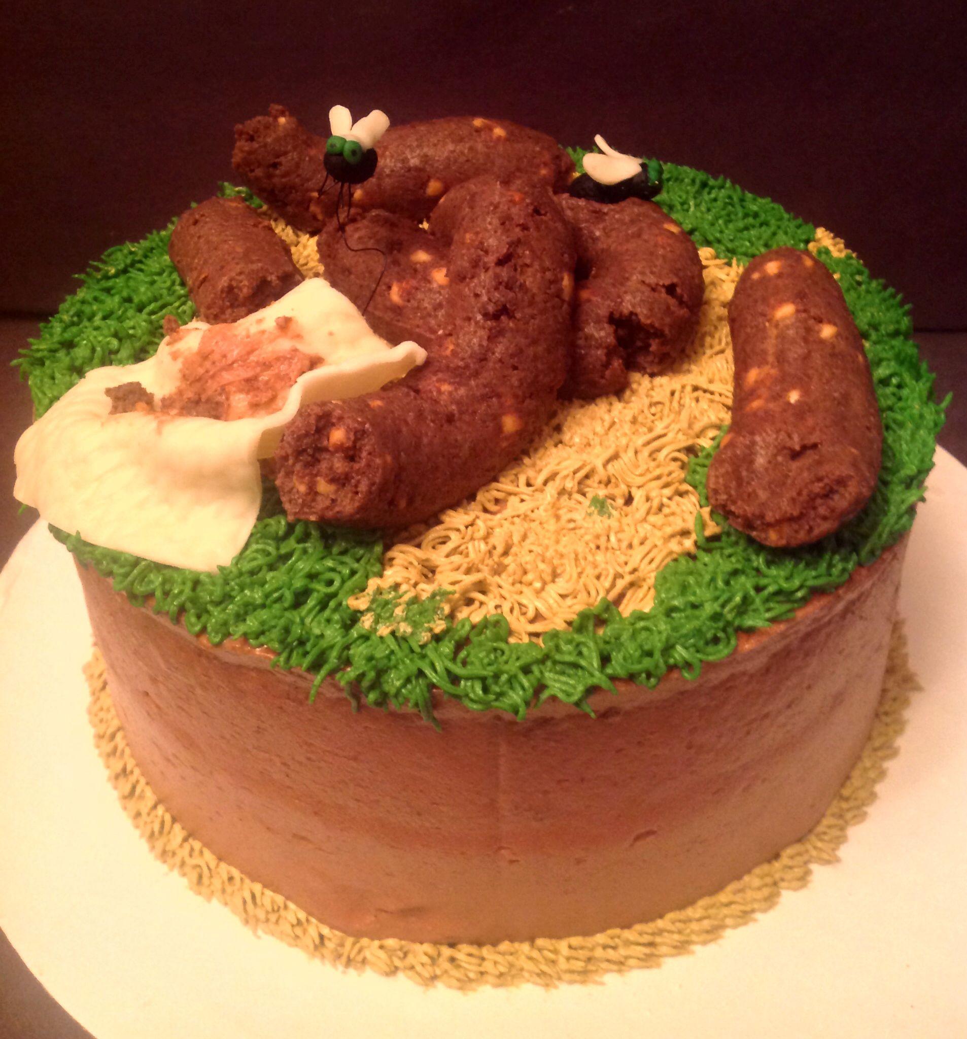 A Fun Joke Poop Cake For Co Worker I Know Gross