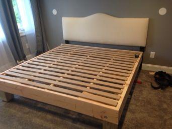 Diy Pallet Bed Frame King