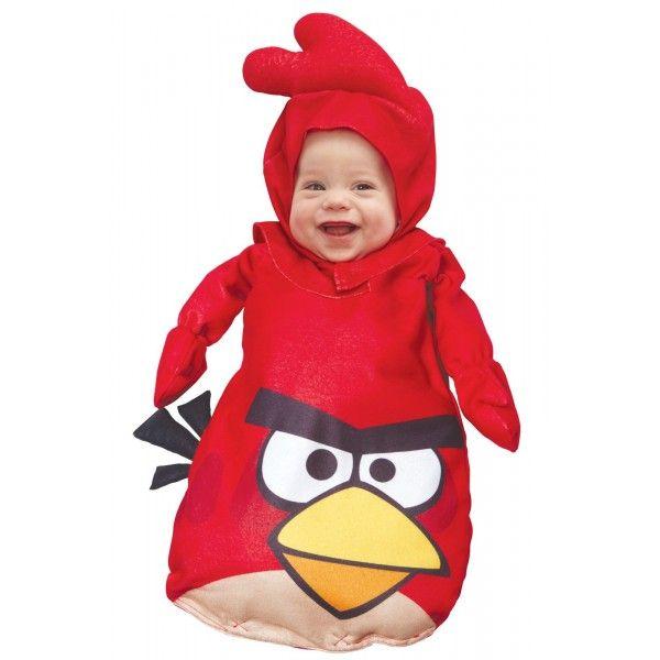 Disfraz de Angry Birds Rojo saquito para bebé: 44.99 (8-10 dias)