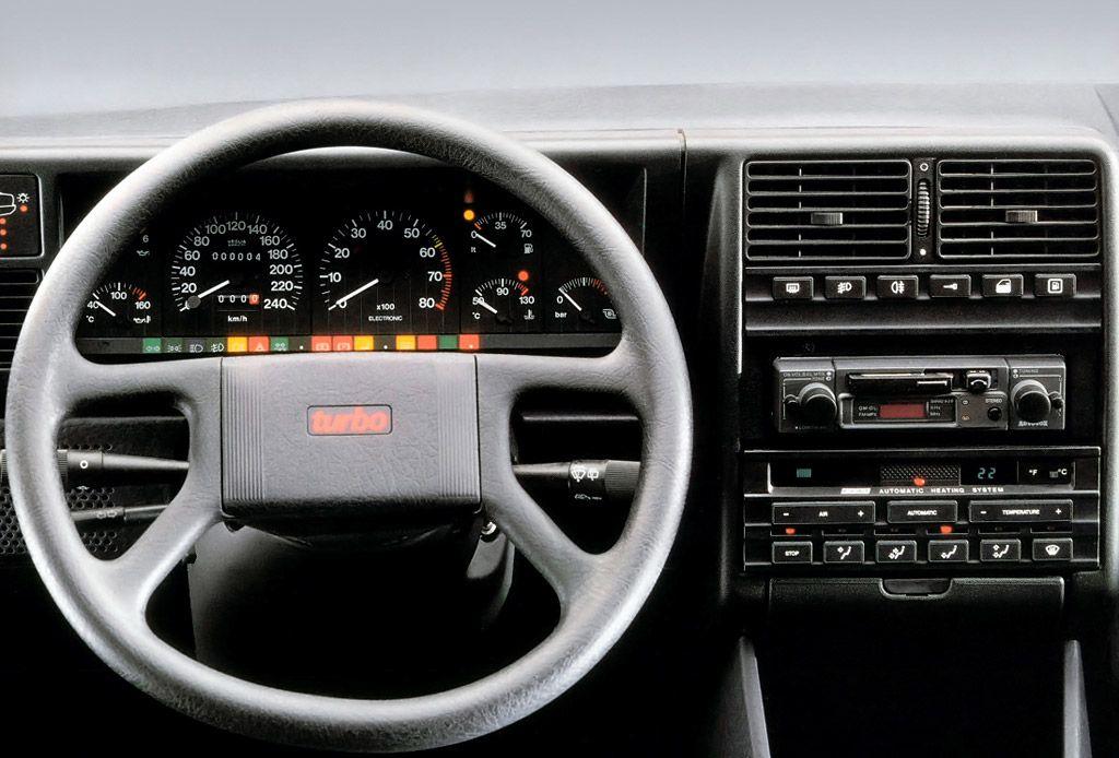Fiat Croma Turbo dashboard