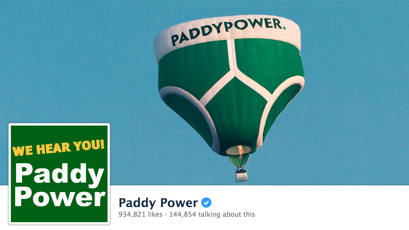 I love Paddy Power but spend my money with William Hill.