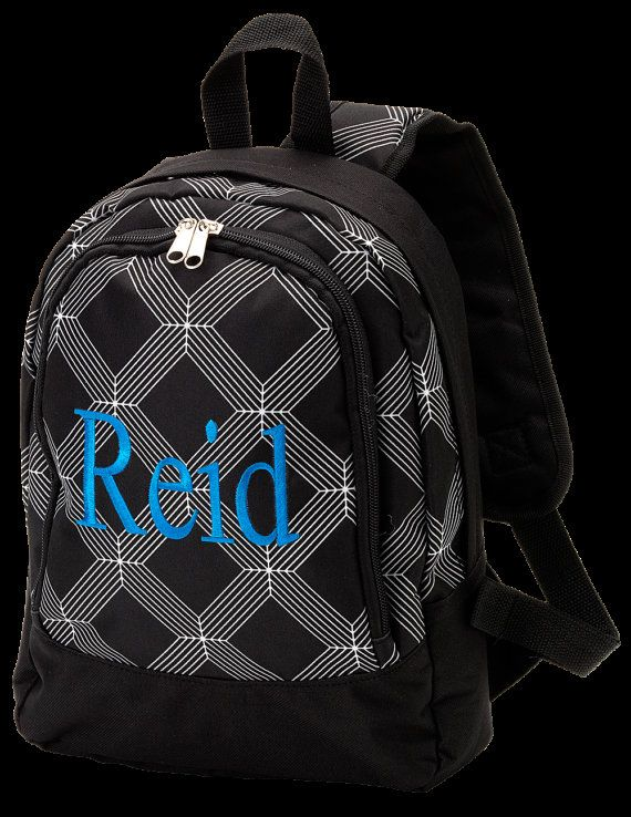 Personalized Cruz Boy Toddler Preschool Backpack Church Bag Book Bag Swim  Bag Karate Bag 2f8aaa3f54a30