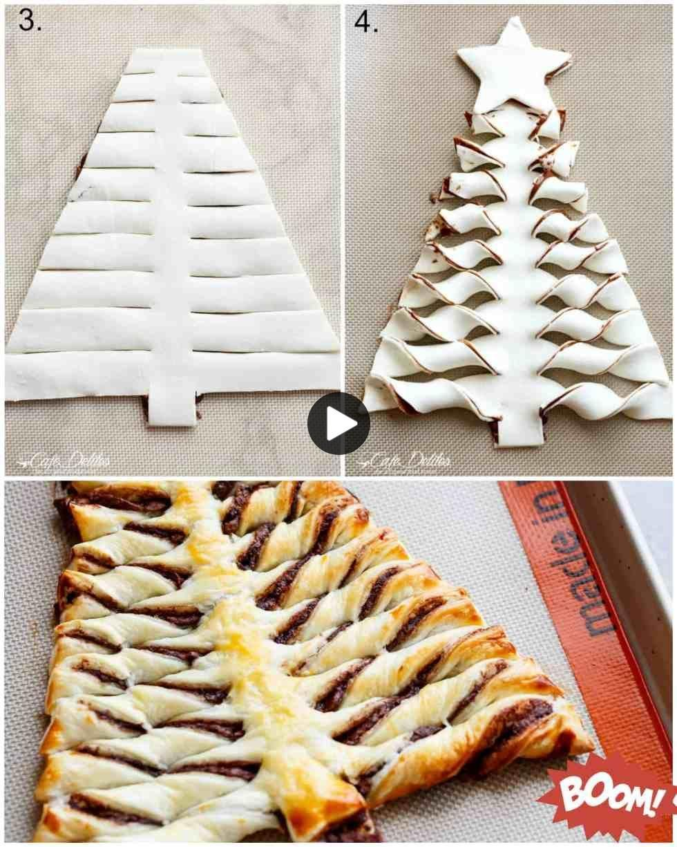 Incroyable arbre de Noël Churro Nutella   Nutella recette ...