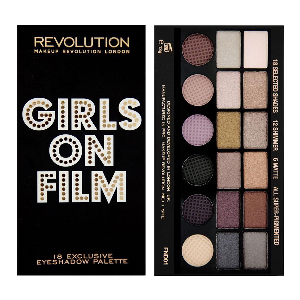 Makeup Revolution Salvation Palette Girls on film (avec