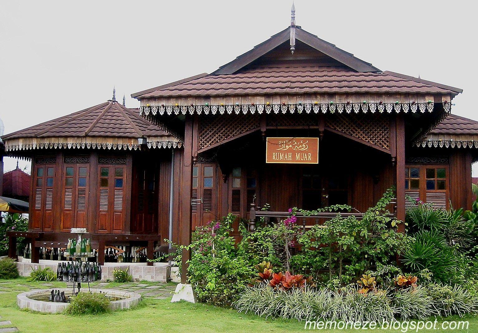 Rumah Kampung Moden Home fashion, Pedesaan, Pemandangan