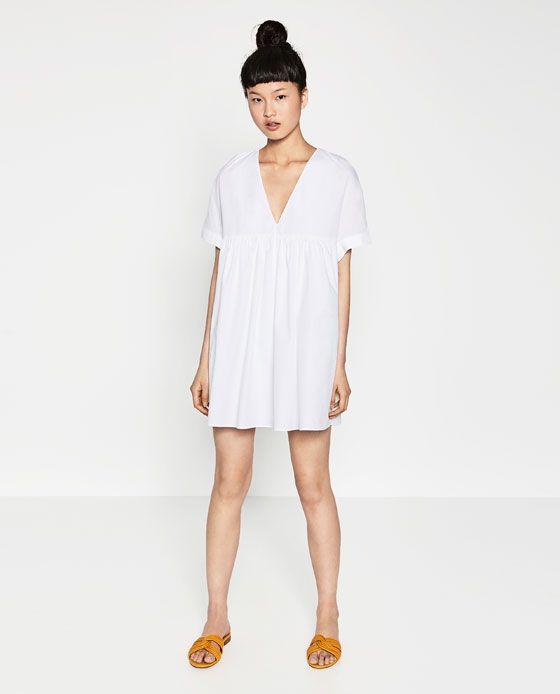 802d1d91 ZARA - WOMAN - POPLIN JUMPSUIT DRESS | Fashion Wishlist | Jumpsuit ...