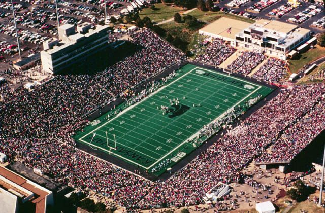 One Of My Most Favorite Sports Stadiums In The U S Wagner Field In Bill Snyder Family Stadium Kansas State Football Kansas State University Kansas
