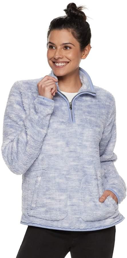 e941e67d5 Sonoma Goods For Life Women's SONOMA Goods for Life Supersoft Half-Zip  Sherpa Sweatshirt