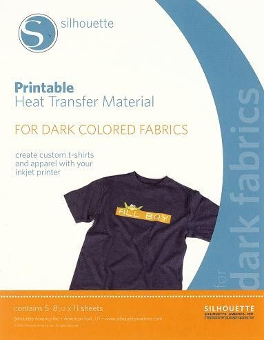 This is a graphic of Silhouette Printable Heat Transfer regarding expressions vinyl