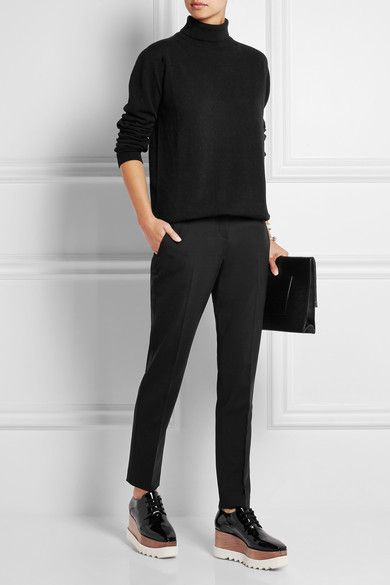Black cashmere Slips on 100% cashmere Dry clean