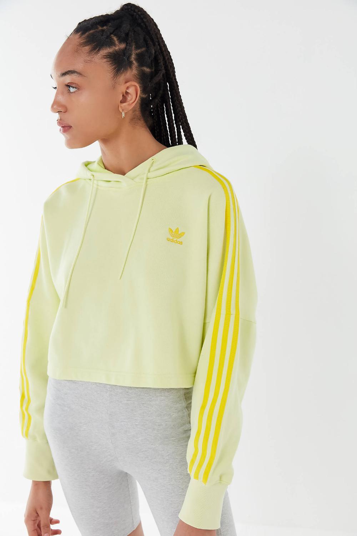 Predownload: Adidas Tonal 3 Stripes Cropped Hoodie Sweatshirt Urban Outfitters Crop Sweatshirt Hoodie Cropped Hoodie Sweatshirts Hoodie [ 1500 x 1000 Pixel ]
