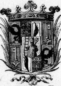 Vorderer Spiegel Exlibris St. Emmeram ... aus