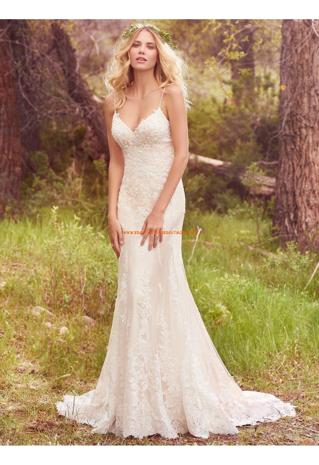 Meerjungfrau Luxuriöse Außergewöhnliche Brautkleider aus Tüll mit ...
