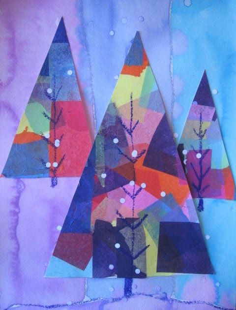 Winter Art Projects For Kids