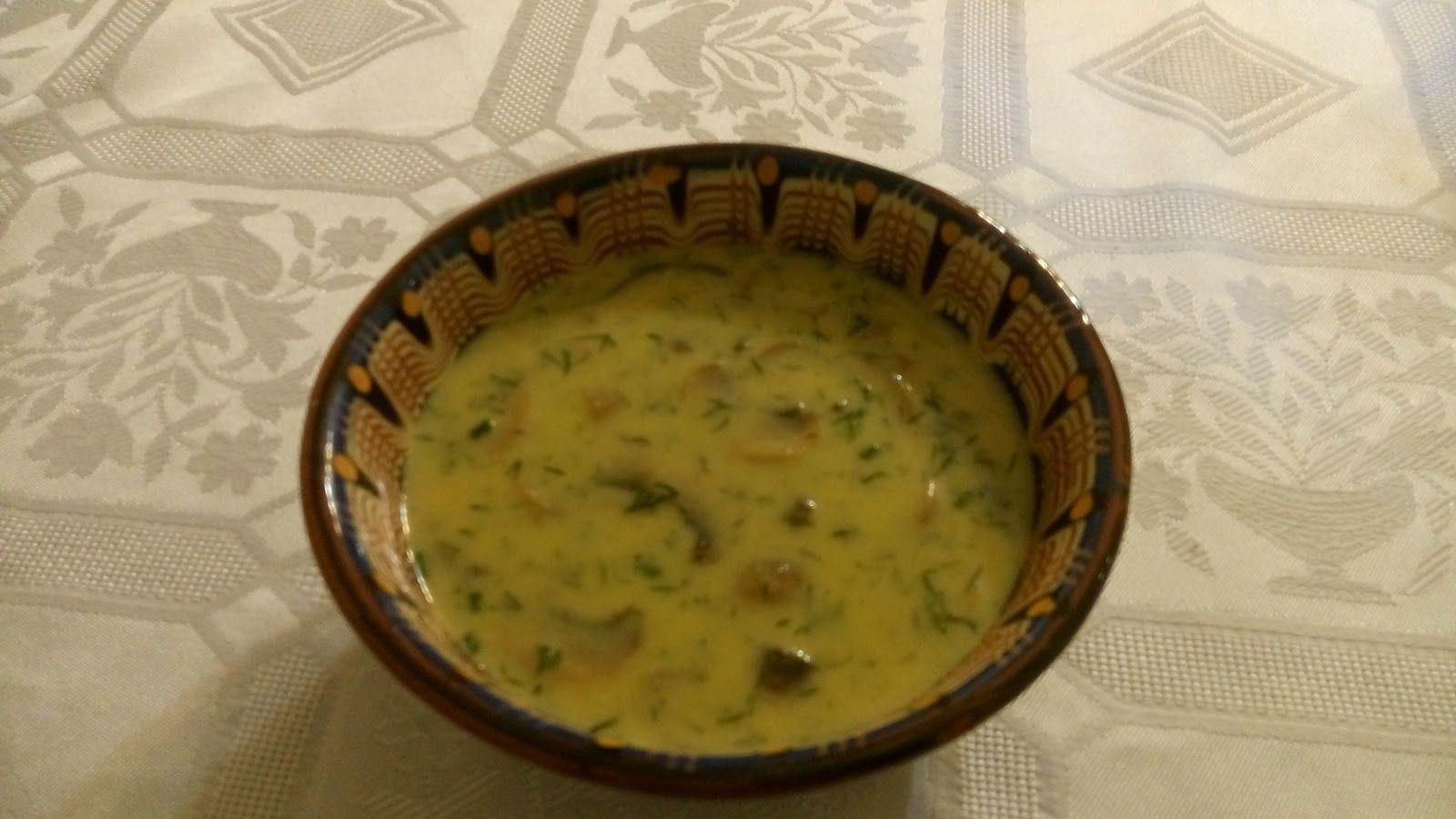 Υλικά 500 γρ. μανιτάρια σε φέτες 4 κούπες ζωμό κότας 2 κούπες ζεστό γάλα 2 κουτ. σούπας αλεύρι 2 κροκαδια αυγού 2 κουτ. σούπας βούτυρο 1 ...