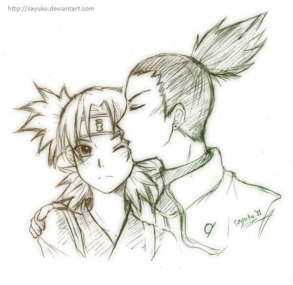 Naruto Couples Shikamaru X Temari Naruto Desenhos De Anime E
