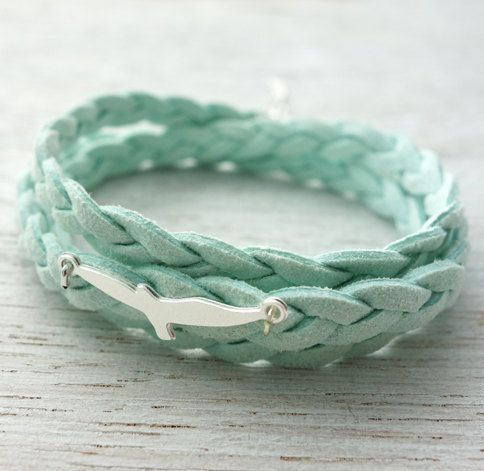 Seagull Bracelet, friendship bracelet, wraparound
