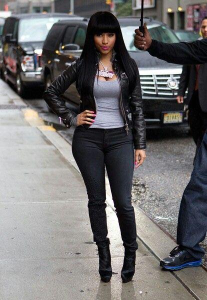 minaj outfits Nicki casual