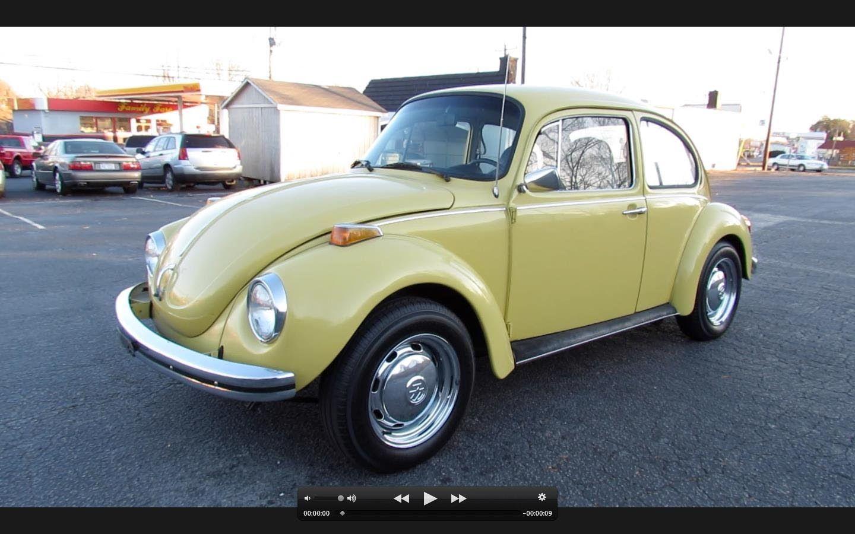 1973 Volkswagen Super Beetle Vw 1303 Start Up Exhaust In Depth Review Vw Super Beetle Volkswagen Beetle
