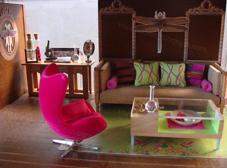 mid century modern dollhouse furniture. Mid Century Modern Blog.: (Mid Century) Doll Houses · Dollhouse InteriorsModern DollhouseMiniature FurnitureDoll Furniture