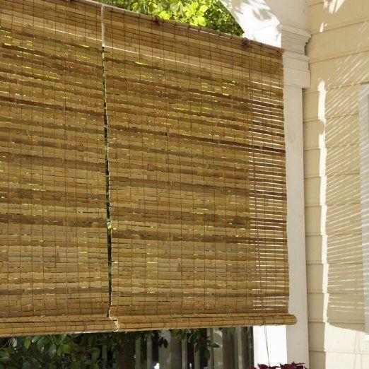 Amazon.com: Lewis Hyman 010810 Laguna Bamboo Roll Up Blind: Patio,