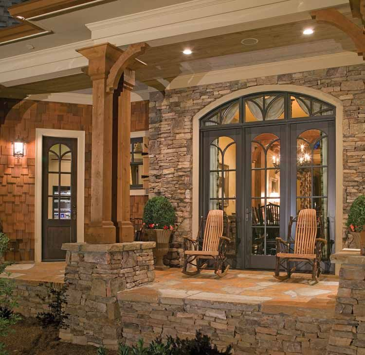 rustic house exteriors country home designs exciting country home designs exterior stone - Rustic Home Designs
