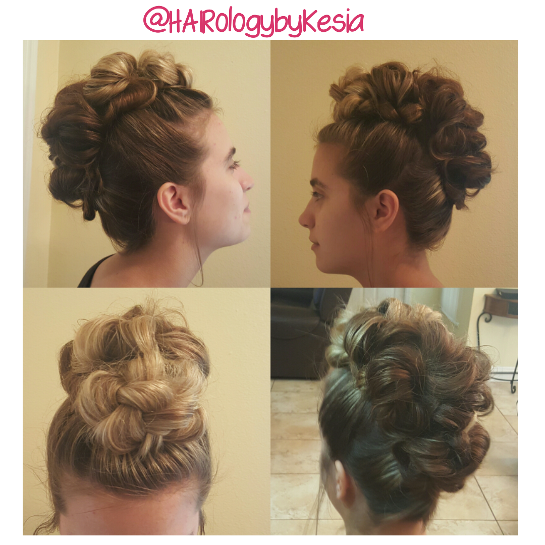 Mohawk faux updo creation u inspired pinterest updos and