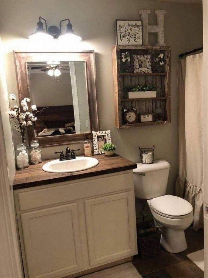 Browse This Website Complete Of Info On Old Bathroom Remodel Small Farmhouse Bathroom Small Bathroom Organization Farmhouse Bathroom Decor
