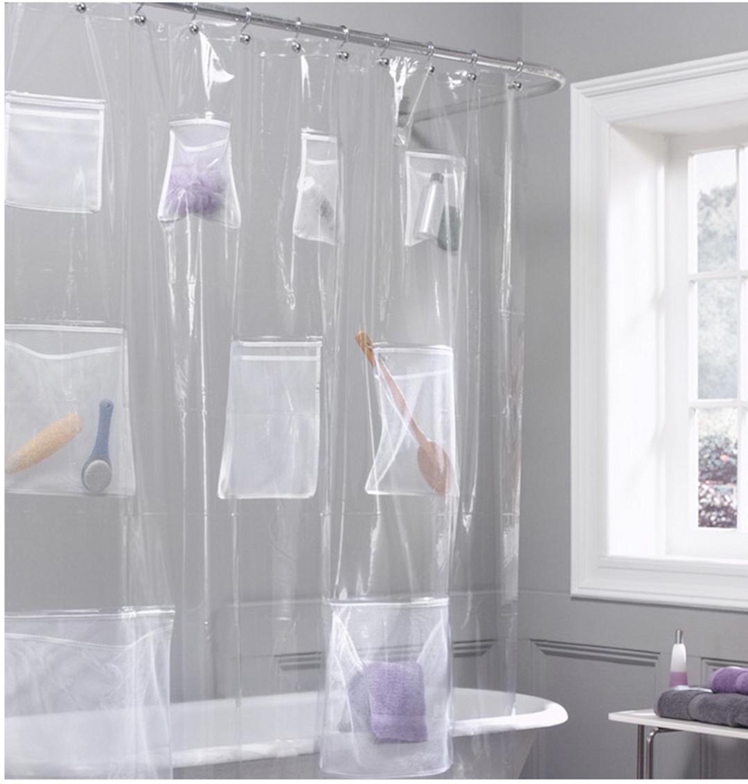 35+ Gorgeous Bathroom Shower Curtain Ideas | Curtain ideas and ...