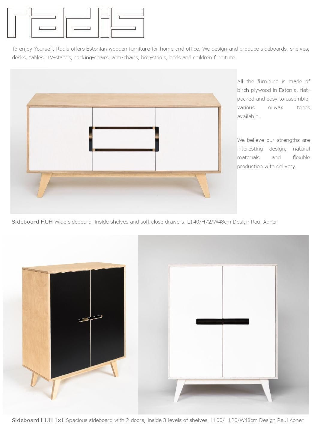 Radis Furniture Catalogue 2016 Radis Furniture Catalogue 2016 I