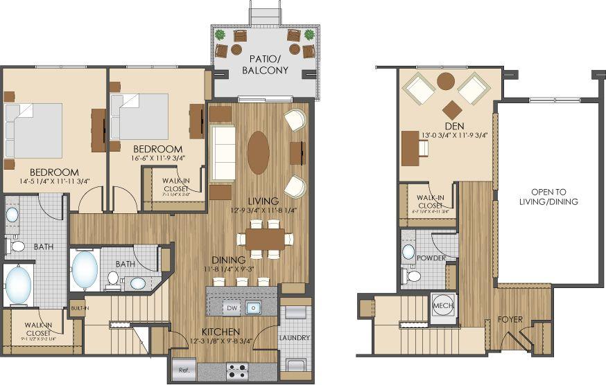 Floor Plans Of Hidden Creek Apartments In Gaithersburg Md 20877 Floor Plans Loft House Design Loft House