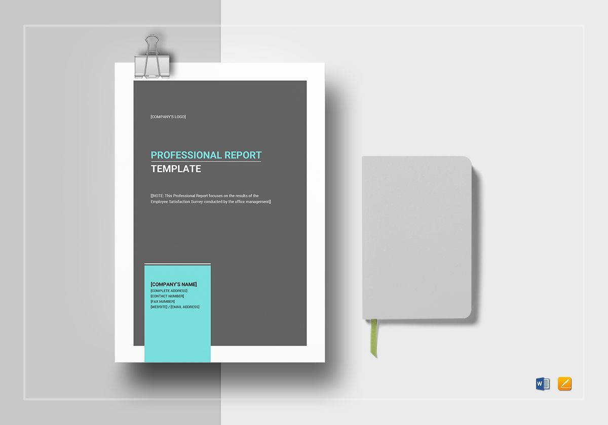 Professional Report Template Word Template Report Template Microsoft Word Templates