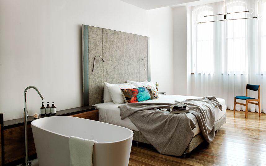Scandinavisch Interieur Sydney : The old clare hotel sydney australia hotel room design