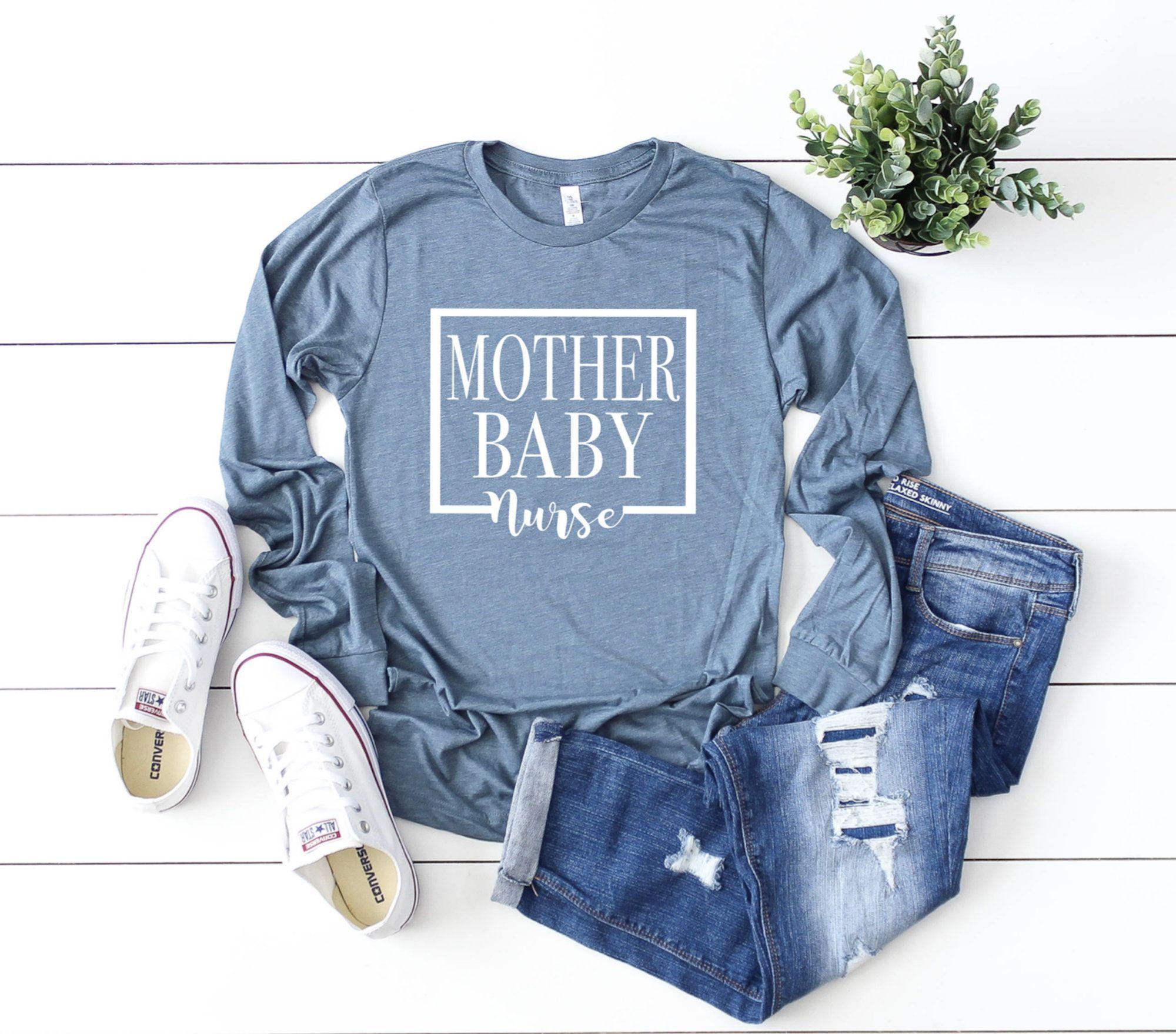 Nurse Shirts Mother Baby Nurse Baby Nurse Shirt Ob Nurse