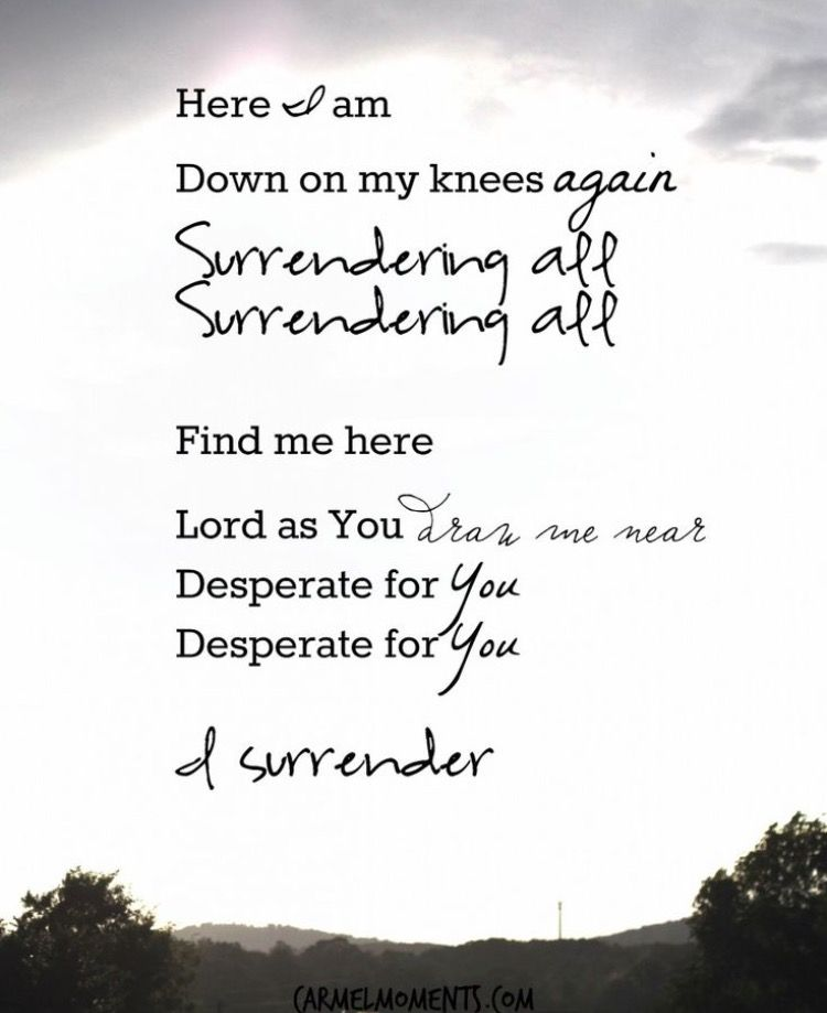Every Day New Surrender Humble Yourself And Walk With God With