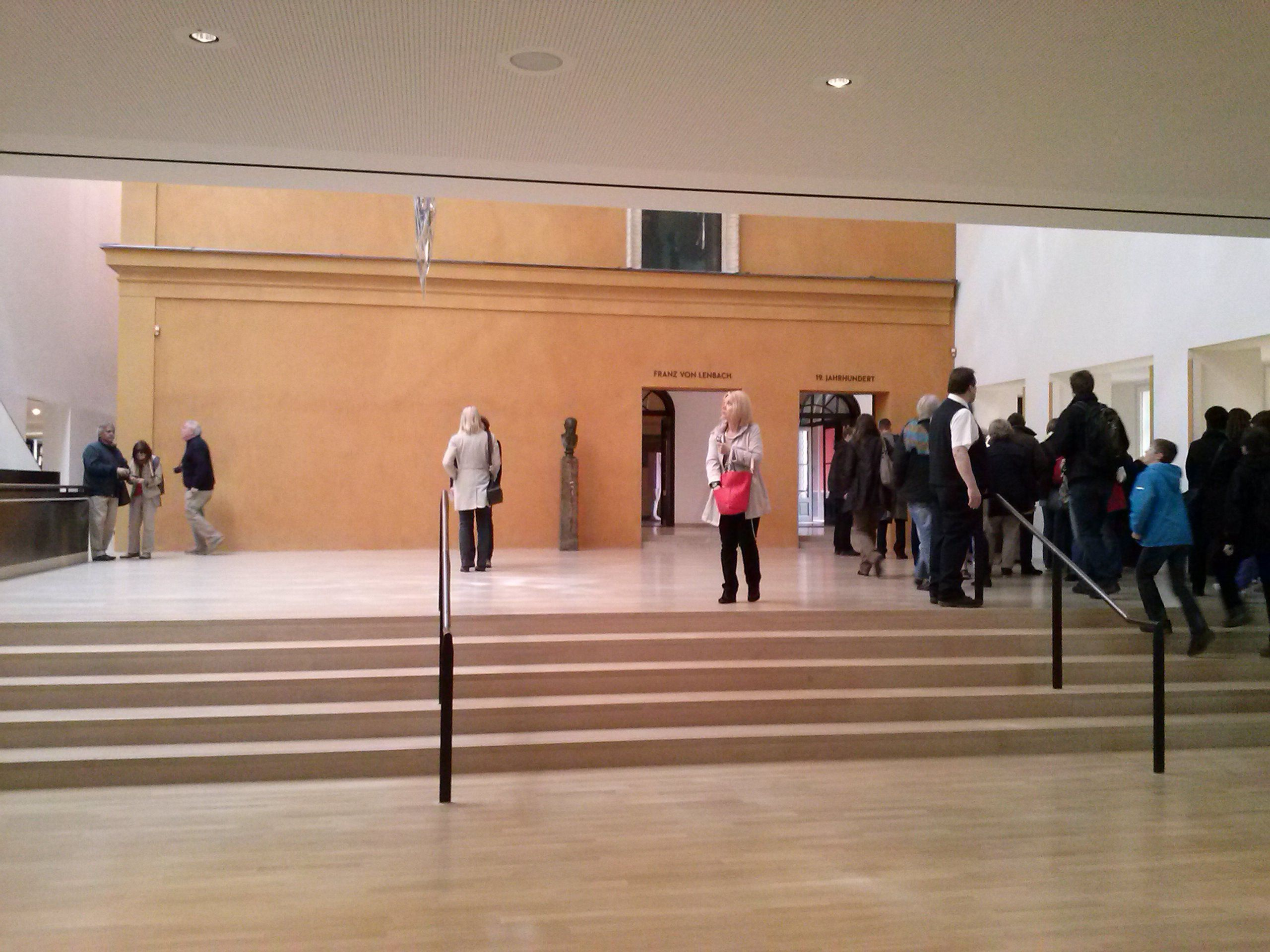 Stadtische Galerie Im Lenbachhaus Scenic Views Foster Partners Norman Foster