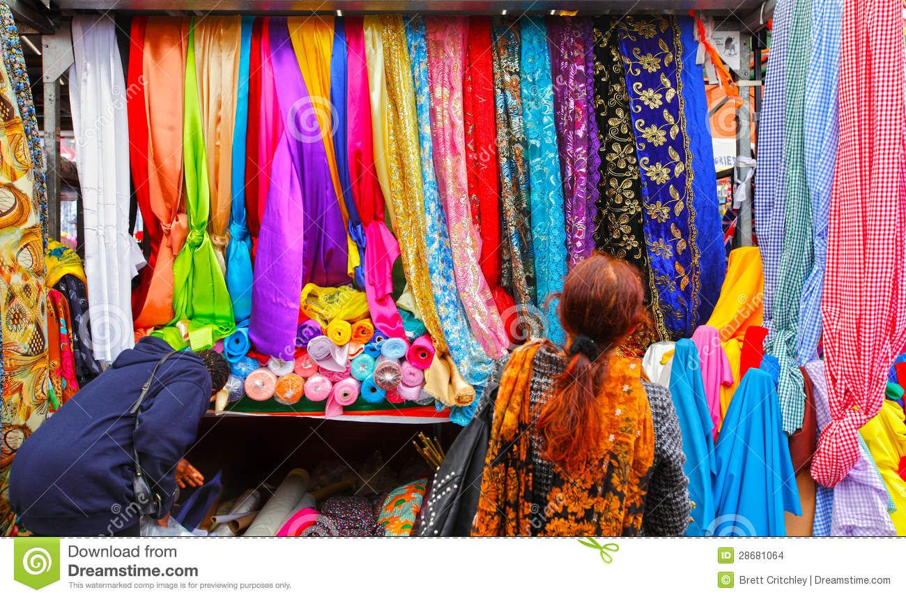 Birmingham S Famous Rag Market Editorial Stock Image Image Of Clothes Fabrics 28681064 Famous Rag Women Shopping