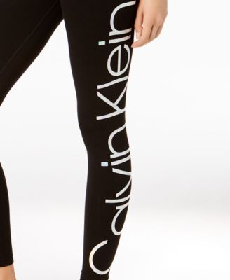 5a138fa95c6feb Jumbo-Logo High-Rise Leggings in 2019   Products   Calvin klein ...