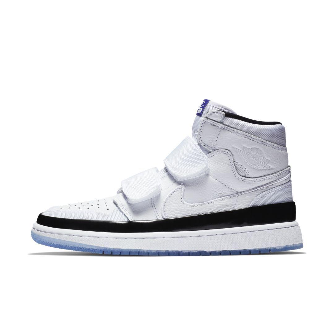cc35b13885b8 Air Jordan 1 Retro High Double Strap Men s Shoe Size 10.5 (White)