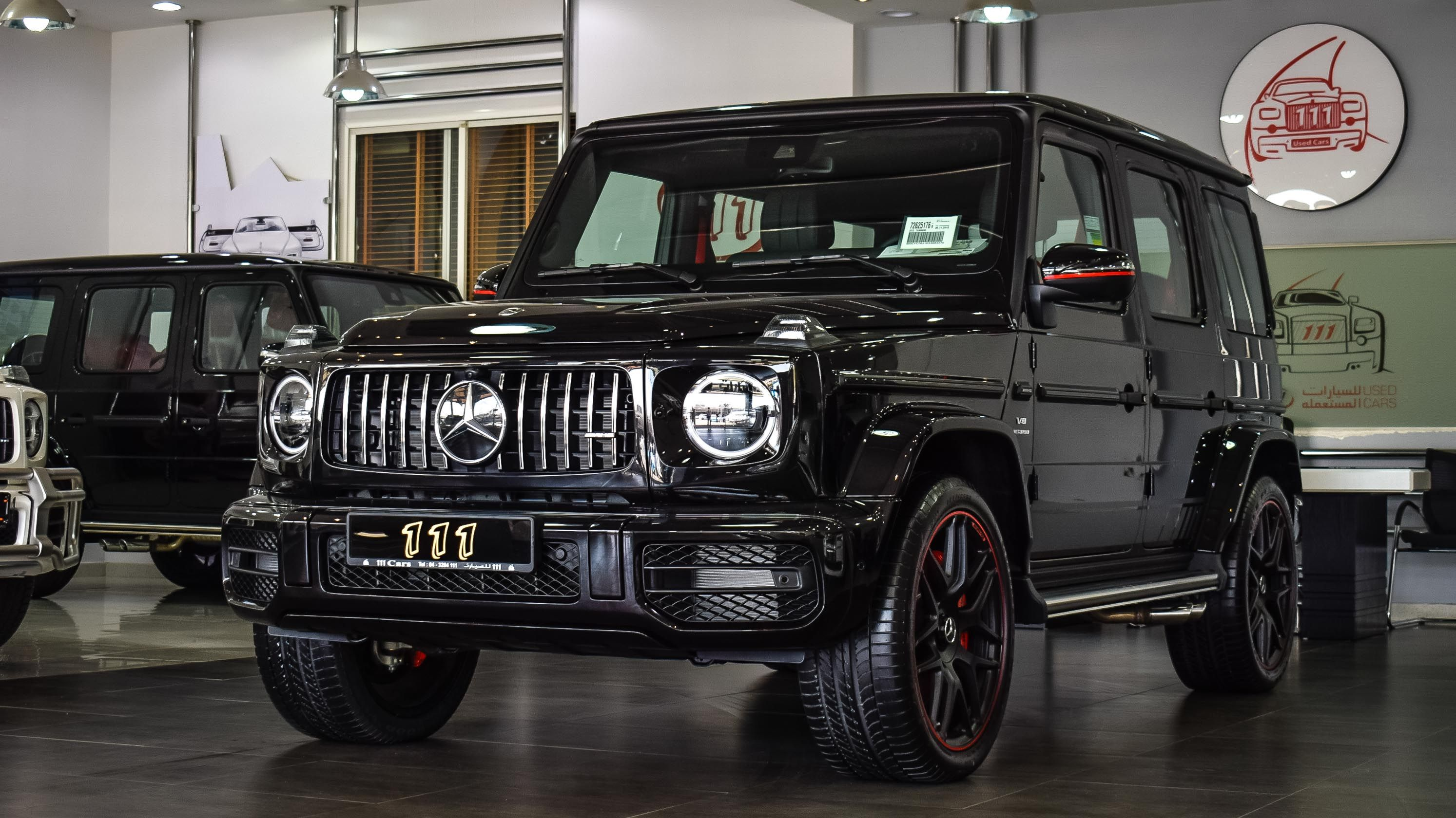 2019 Mercedes Benz G 63 Amg V8 Biturbo Black Edition Gcc Specs
