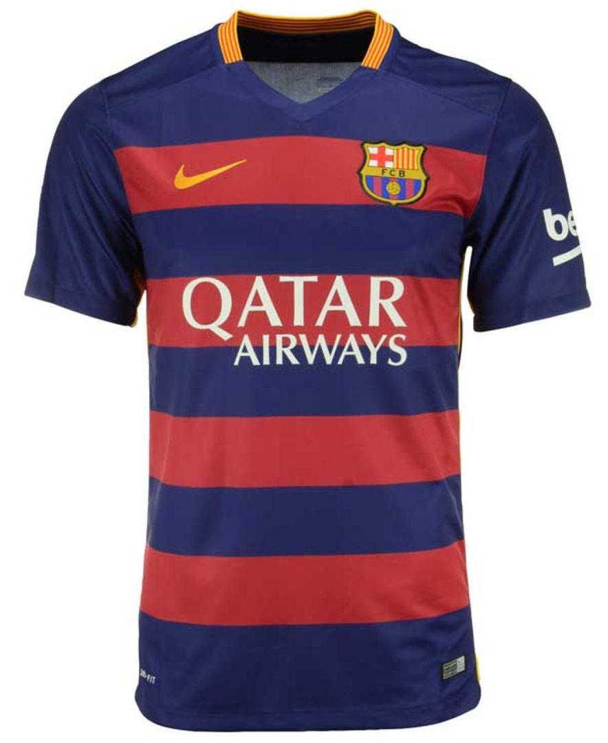 Nike Men s Fc Barcelona Club Soccer Stadium Jersey  b6848abec