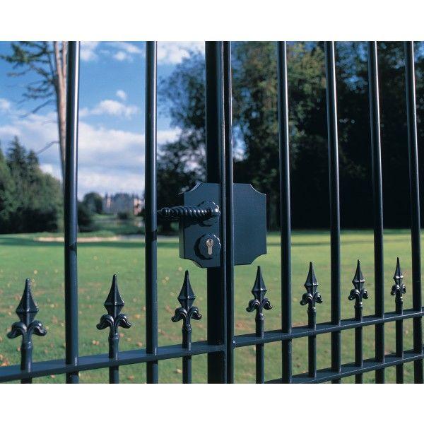 Unique Metal Gate Lock Box Label Gate Lock