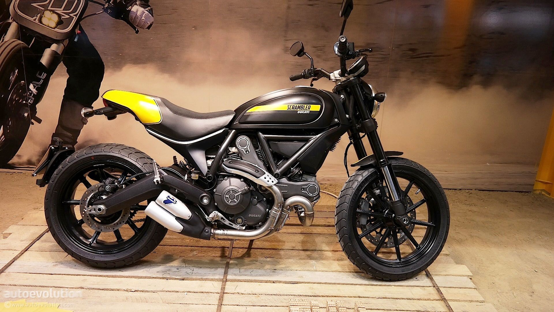 2015 ducati scrambler full throttle wide wallpaper | motorcycles hd