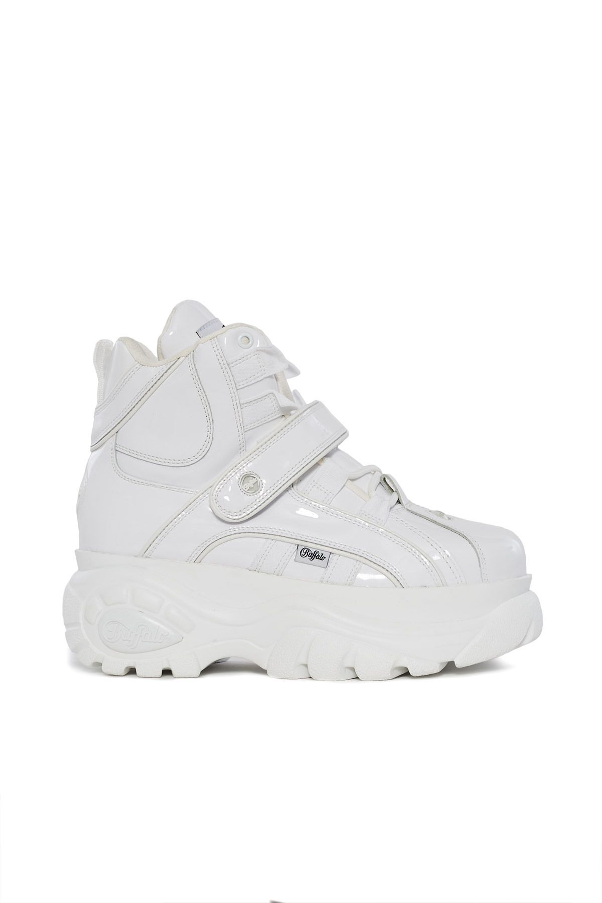 Platform LondonCharol Sneaker A Buffalo High Top Favorite Blanco kuOwZTPXi