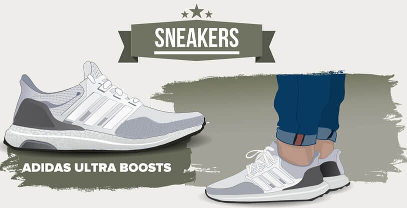 4e385ffcc We know how much guys love their kicks so we ve made this handy infographic  showcasing some of the most popular sneakers